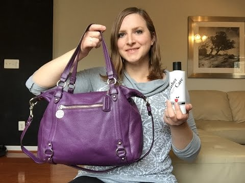 Unboxing/Reveal Coach Alexandra Bag and *HOW TO* Clean and Condition