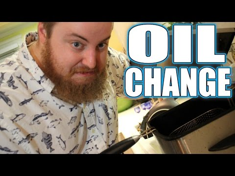 How To Change Dirty Fryer Oil