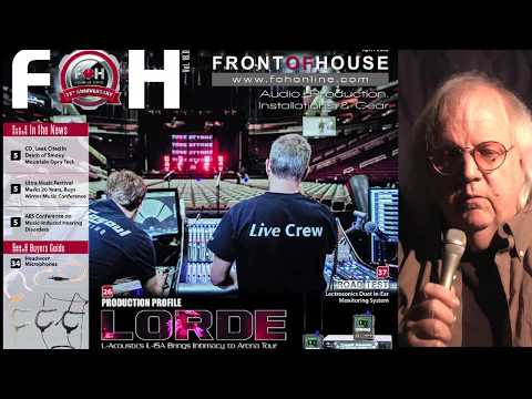 PREVIEW: April 2018 issue of FRONT of HOUSE