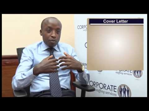 Cv Writing Kenya. What Information to Include in a Cover Letter