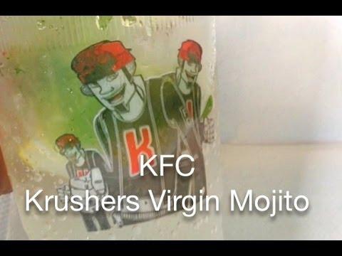 KFC Krushers Virgin Mojito