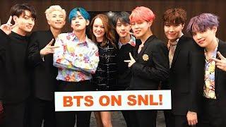 Download Backstage at SNL with BTS! | VLOG Video