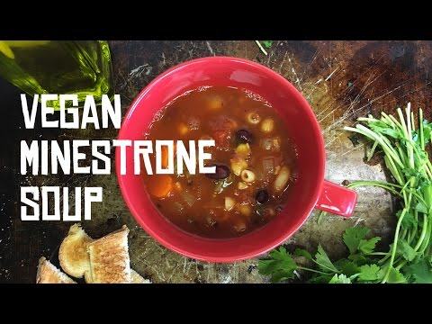 Vegan Minestrone Soup Recipe - Meal Prep on Fleek
