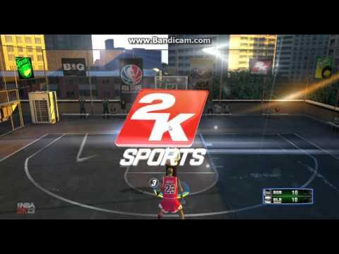 Nba 2k13  My Career vs Michael Jordan Blacktop #1