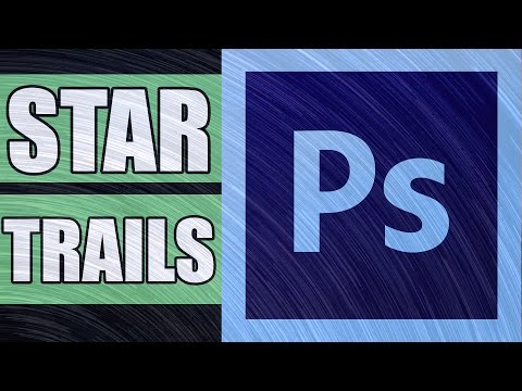 How to make Star Trails in Photoshop