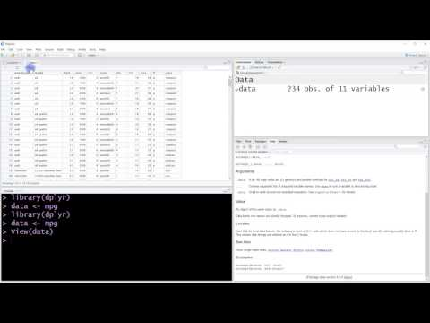 R Tutorial - 008 - How to rename and select data with dplyr