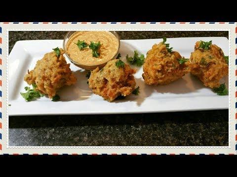 Crawfish Beignet Recipe/How To Make Crawfish Fritters