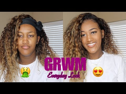 CHIT CHAT GRWM: Everyday Makeup & Hair Look