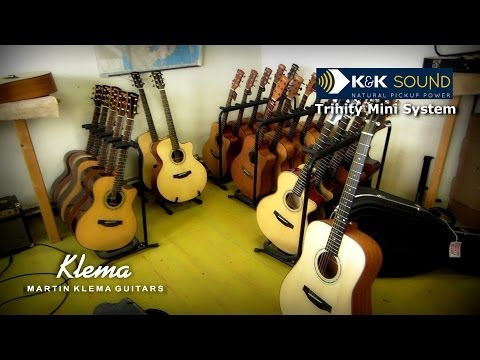 K&K Trinity - best acoustic guitar sound system? /Pure Mini pickup + mic/ - installation and test
