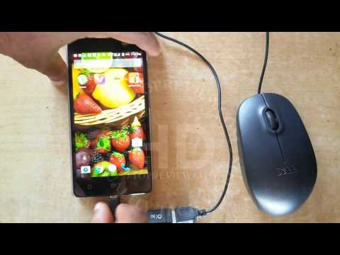 Micromax YU Yuphoria YU5010A OTG Test With USB Mouse | OTG Support Test | Micromax Mobiles |