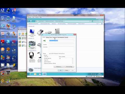 How to: install/update your printer drivers in Windows 8