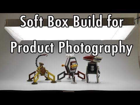 Product Photography 🅛🅔🅓 Soft Box Build: take better video and photos