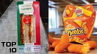 Top 10 Fast Food Items That Totally Failed