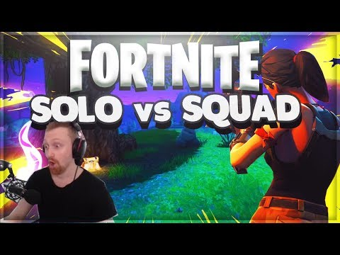 SOLO vs Squads - FORTNITE Battle Royal Highlights Gameplay