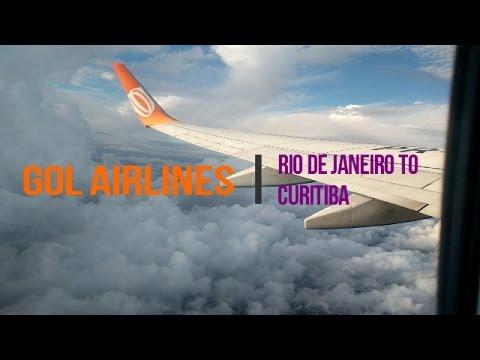 GOL: Rio-Galeão to Curitiba-Afonso Pena