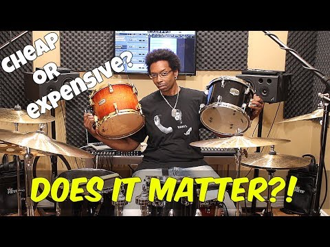 CHEAP or EXPENSIVE Drums? Does It Matter?!