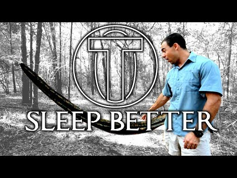 How To Sleep in a Hammock BETTER ▪ 5 Tips