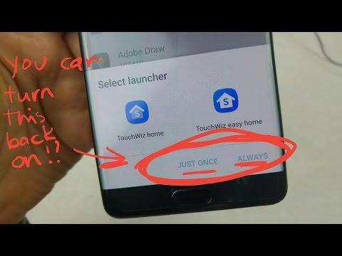 Samsung S6/S7 Bring back