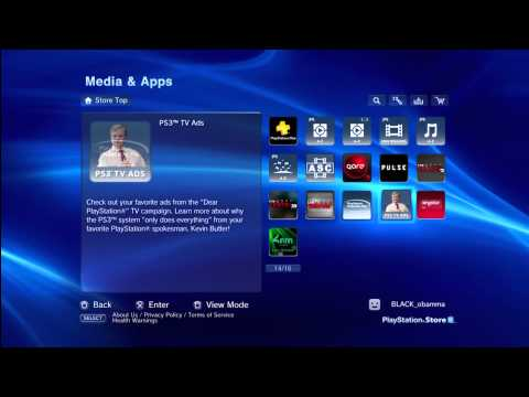 HOW TO GET PS3 YOUTUBE APP