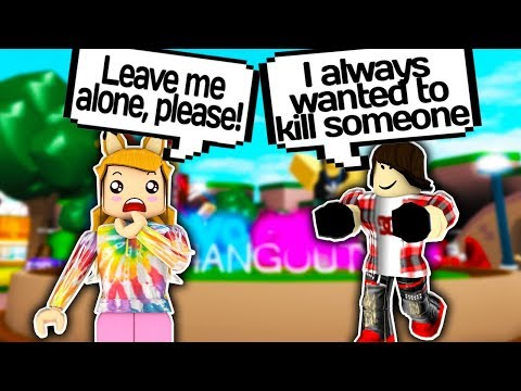 CREEPY STALKER GUY WANTS TO KILL ME?! 😱 // Roblox Boys & Girls Hangout // Roblox Creepy // Roblox