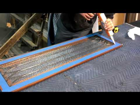 How to Install Glass in Cabinet Doors - With Middlefield Glass