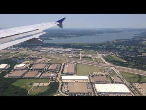 Dallas, Texas - Landing at Dallas/Fort Worth International Airport HD (2016)