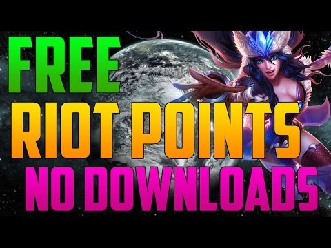 How to Get: Free Riot Points [Proof, No downloads] Update Video