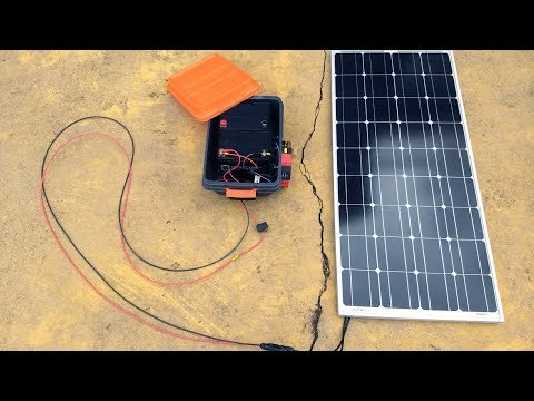 My DIY Portable Solar Power