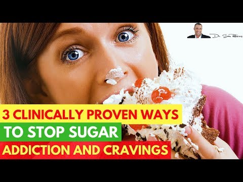 🍬3 Clinically Proven Ways To Stop Sugar Addiction and Cravings For Good