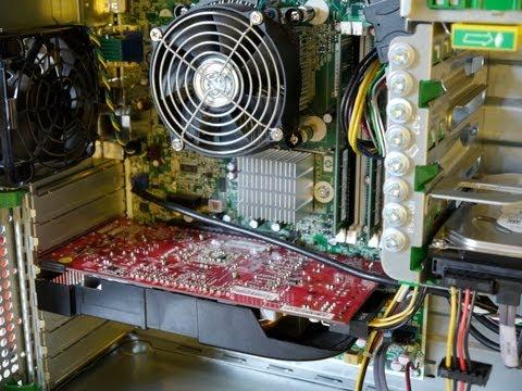 HP Elite 8000 Inside
