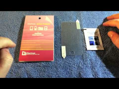 Clarivue Mirror Screen Protector Review iPod Touch 4G