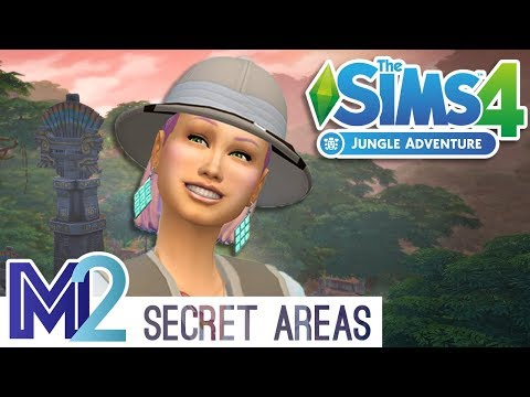 The Sims 4 - Jungle Adventure Secret Areas (Early Access)