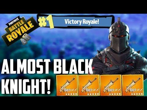 ALMOST BLACK KNIGHT! - FORTNITE - ThatRandomGamer **LIVE**