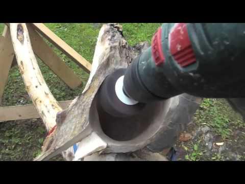 How to make a didgeridoo. Norway