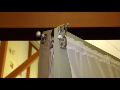 The Easiest Way To Hang Curtains - New Invention - The Curtain Caddy - Modesto Home & Garden Show