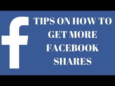 Get more shares on Facebook, Tips on how to get more Facebook Shares