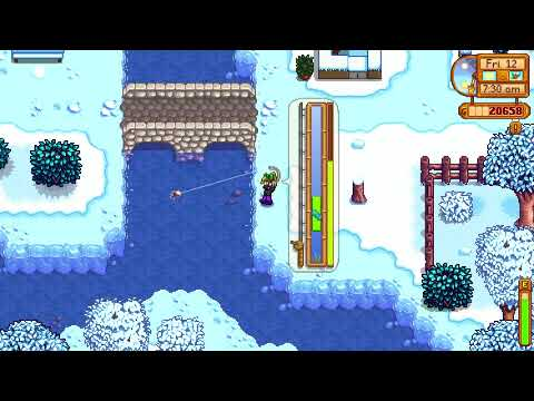How I got a Tiger Trout fish - Stardew Valley