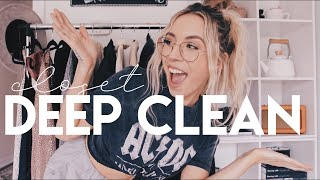 deep cleaning my closets & skin | VLOG WEEK 08