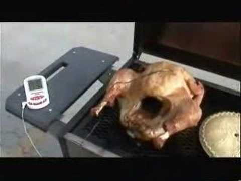 How to grill a turkey on the Holland