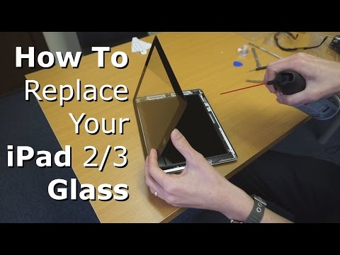 iPad 2/3 Glass Screen Replacement Tutorial