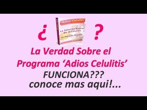 La Verdad sobre el Programa 'Adios Celulitis' - Funciona?