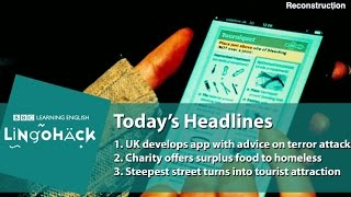 Learn words from the news: mock-up, social isolation, daredevils