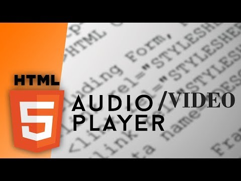 How to add video/audio in your web page with html video tag