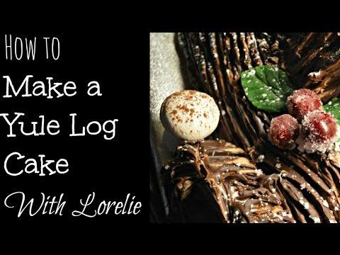 How to Make A Yule Log Cake Buche De Noel