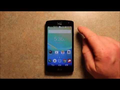 LG Transpyre Verizon 4G LTE Prepaid Phone