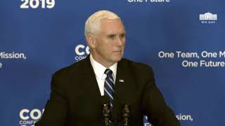Mike Pence Delivers Speech at Global Chiefs of Mission Conference 1/16/19