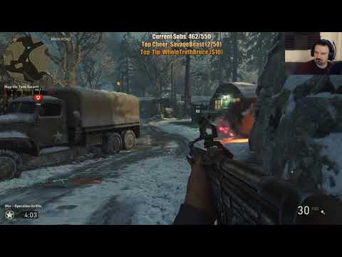 COD WW II MY BEST SESSION EVER! pt29