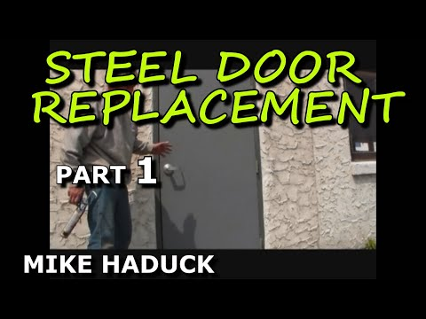 How I install a steel door (part 1 of 3)   Mike Haduck