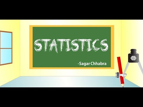 Statistics (Mean, Median , Mode )- Mathematics Class 10th CBSE (Hindi)-