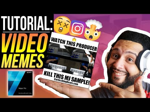 How To Make A Video Meme For Instagram | Sony Vegas Pro